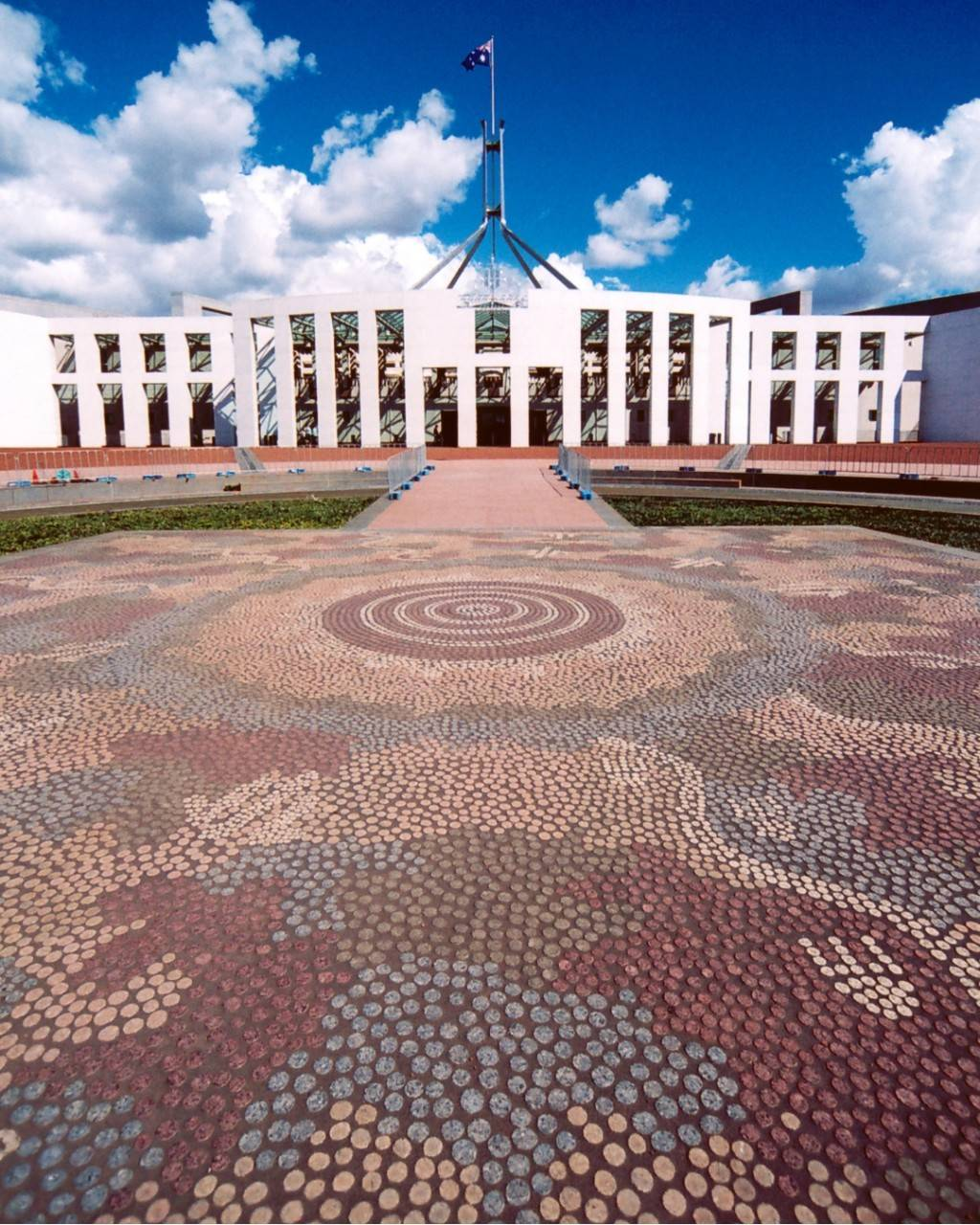 Parliament House Forecourt Mosaic